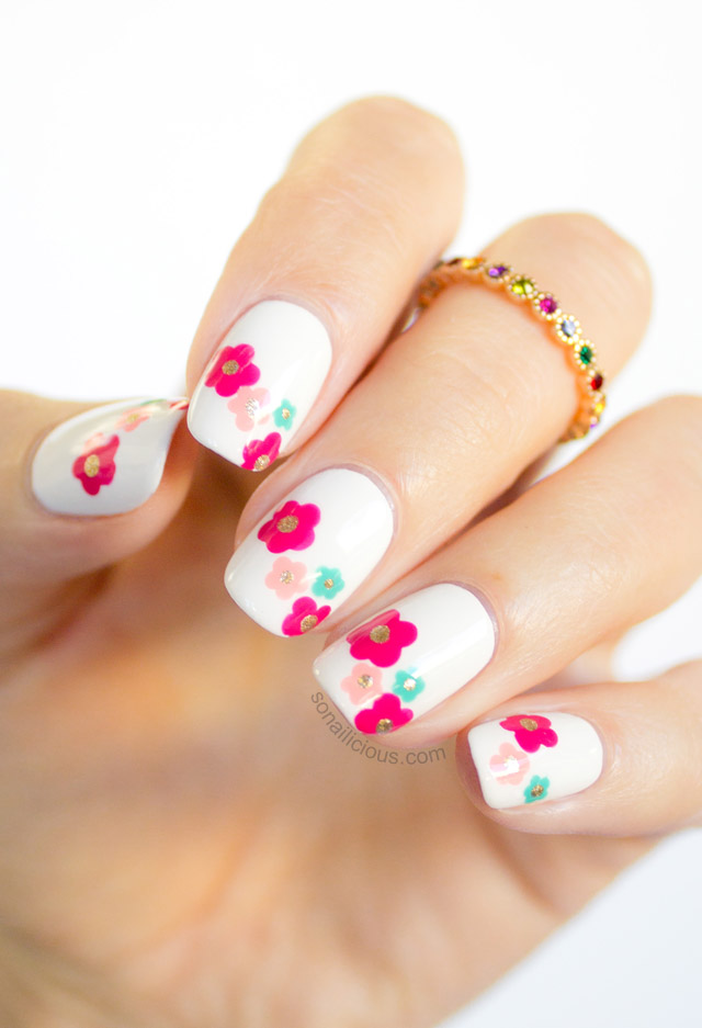 beautiful spring nail design