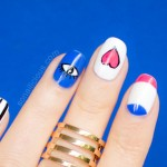 Funky Love Valentine's Day Nail Art – Tutorial