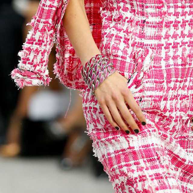 Chanel Spring 2014 - black and pink
