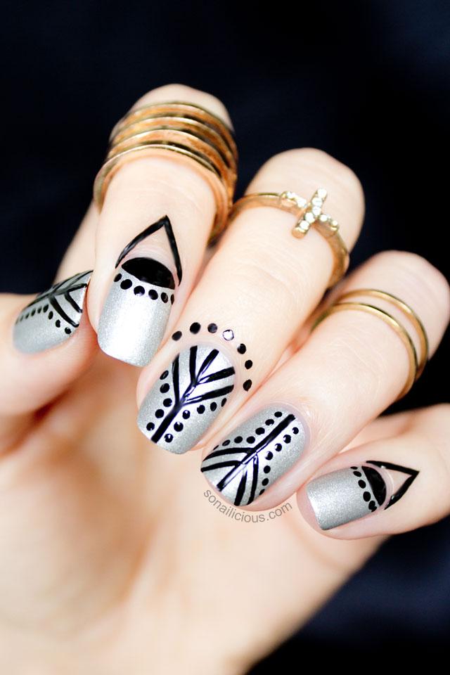 cuticle nail art 1