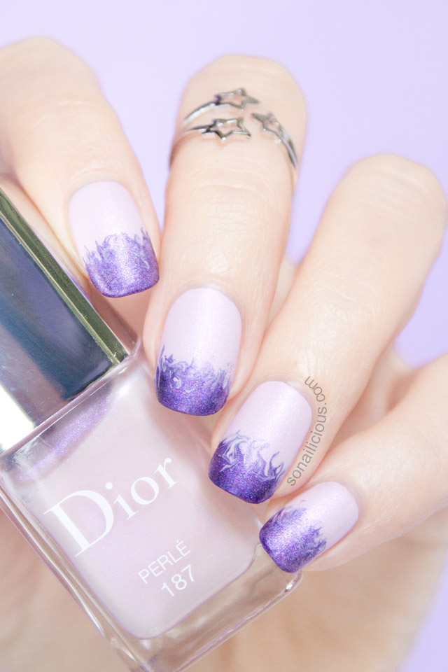 dior perle nail polish review