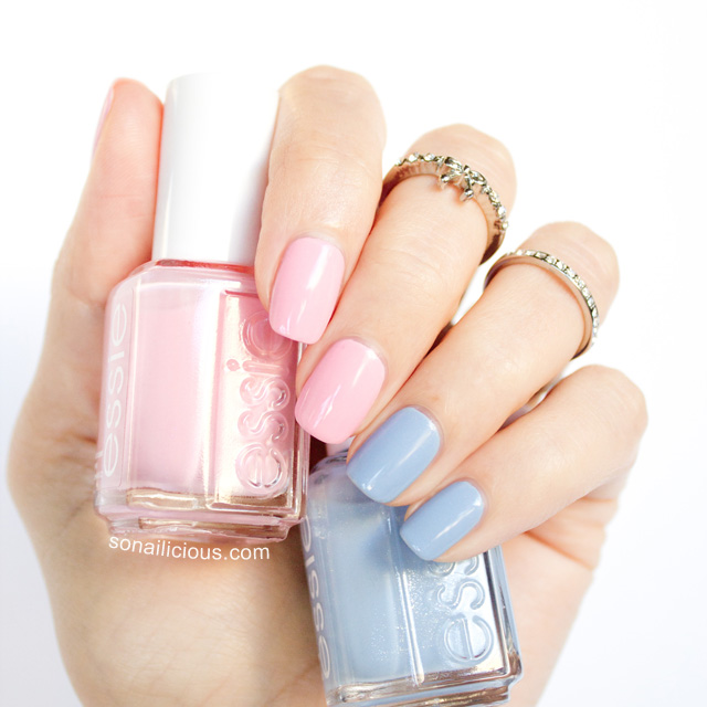 essie pink about it, pink nails