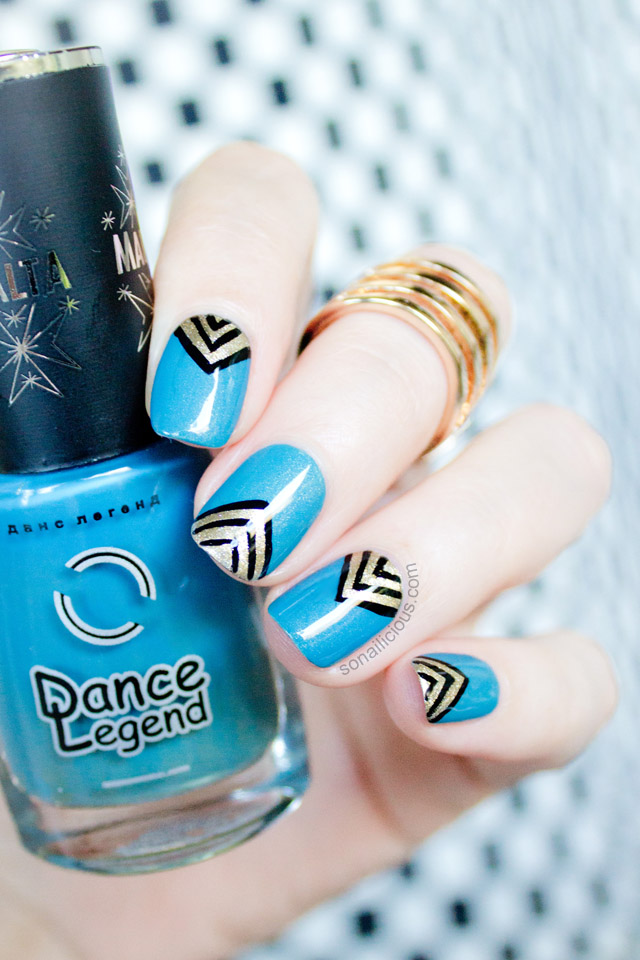 dance legend malta 29 review, teal nail polish