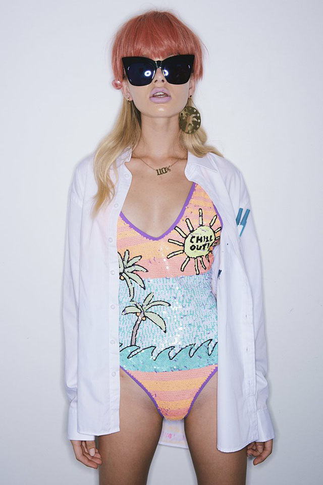 Emma Mulholland make up nails 2014 australian fashion week 3