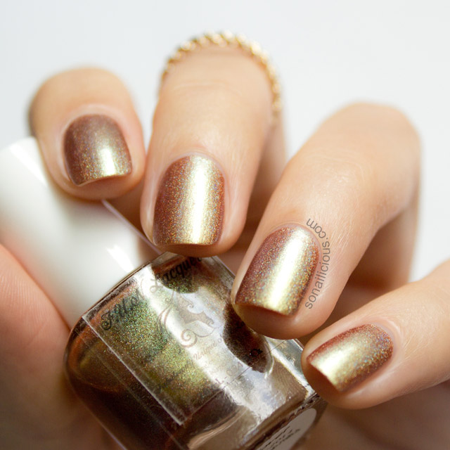 Fun Lacquer Clover nail polish shadow