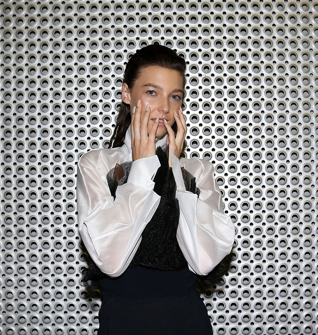 gail sorronda make up nails 2014 australian fashion week 2