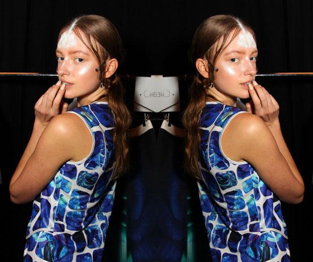 leroy nguyen make up nails 2014 australian fashion week 1