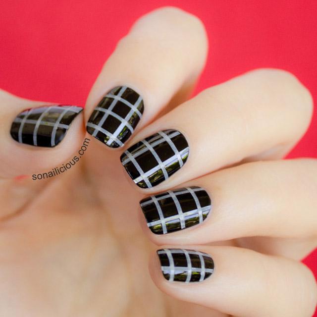 Marni Bag Inspired Nails