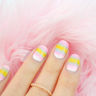 pastel nails, ombre nails