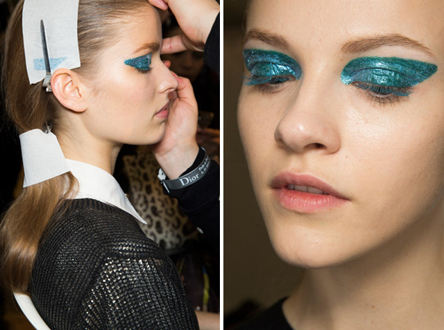 DIOR fall 2014 beauty makeup