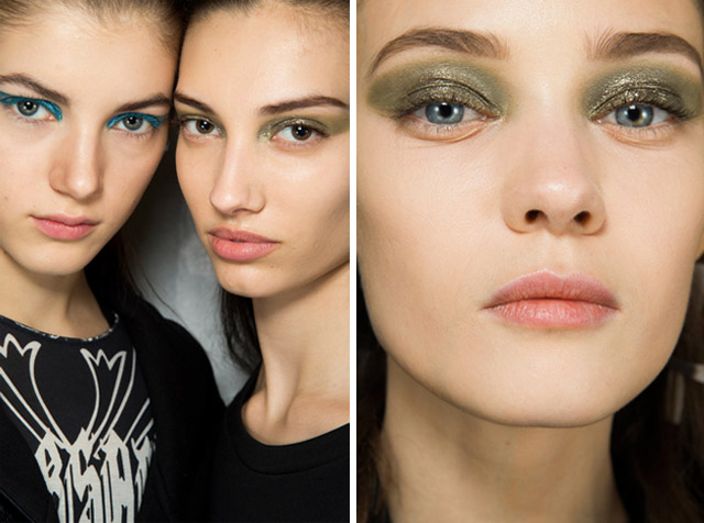 christian DIOR fall 2014 eye make up