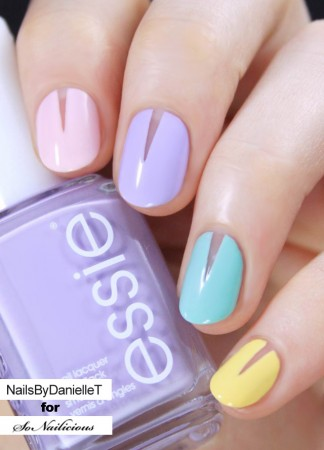 easy spring nails tutorial