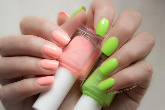 neon nail polish GT Cosmetics