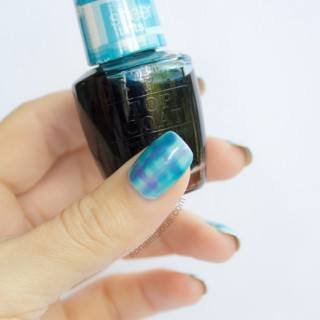 tartan nails, tartan nail art tutorial
