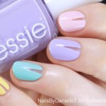Cut Out Spring Nails – Tutorial