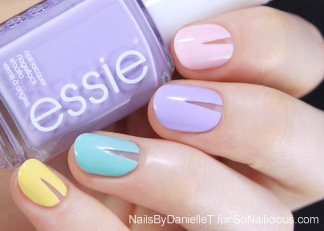spring nails nail art tutorial