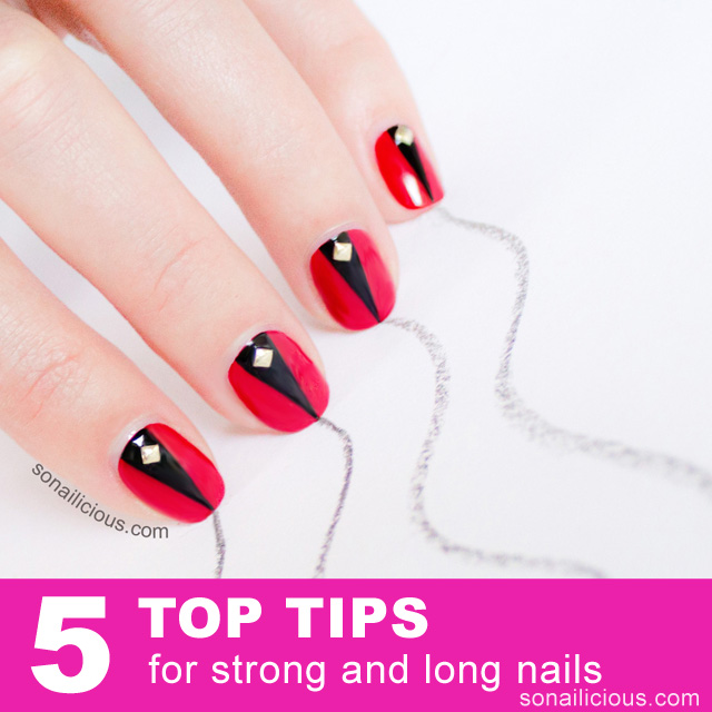 tips for strong nails