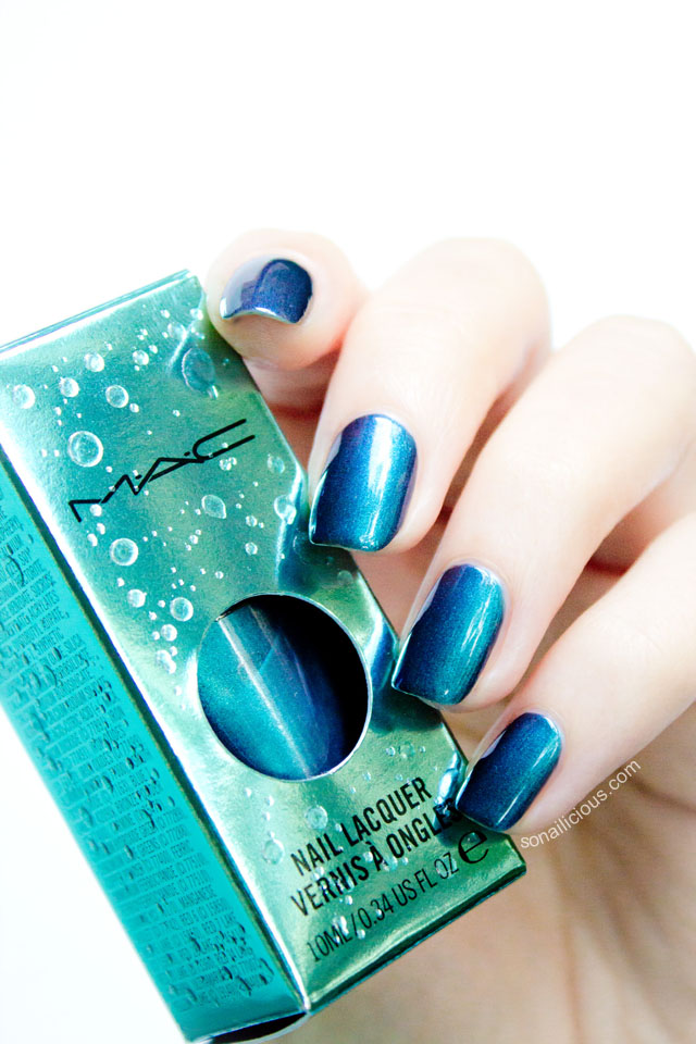 MAC submerged nail polish