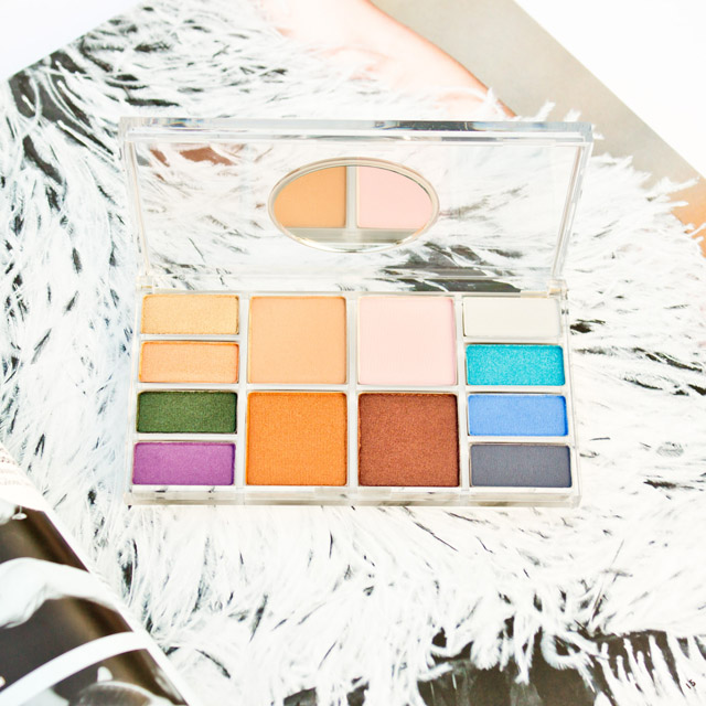 Bright Eyeshadow Palette: Napoleon Perdis Empress Eye Palette