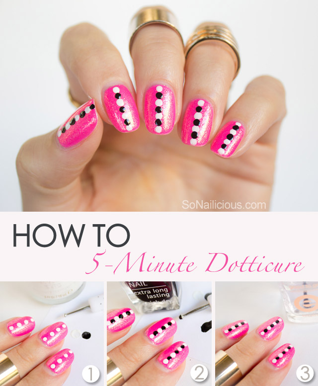 easy dotticure tutorial
