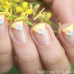 Triangle French Manicure Tutorial