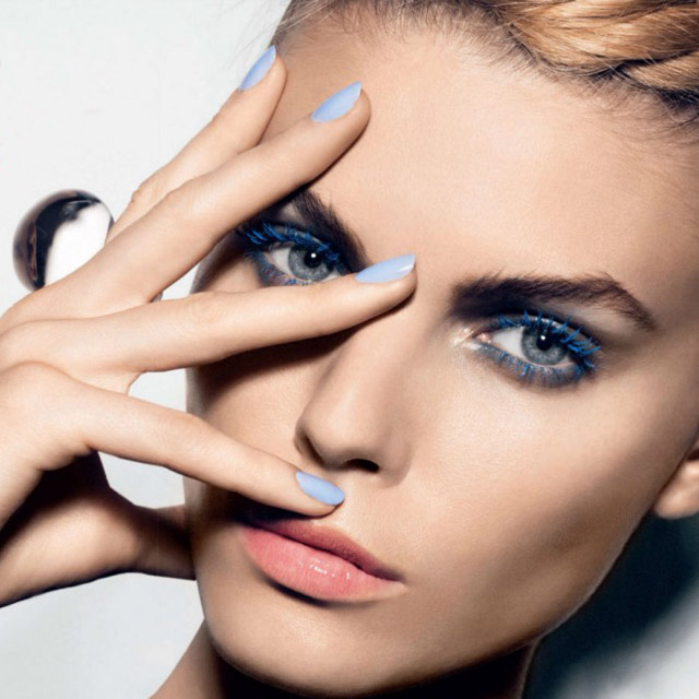 Baby blue, Marina Linchuk for Allure Russia