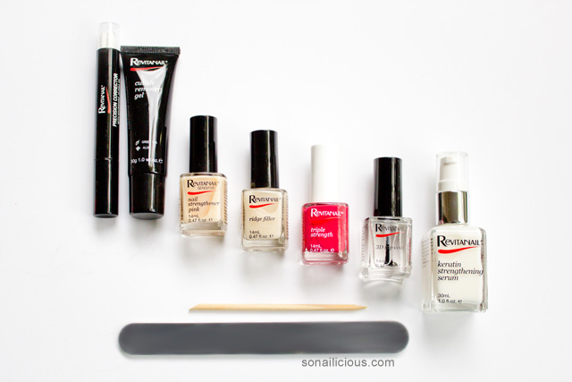 Revitanail Nail Care Products Sonailicious