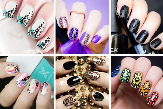 best leopard nail designs