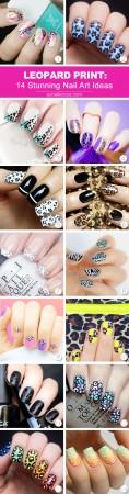 best leopard nail designs