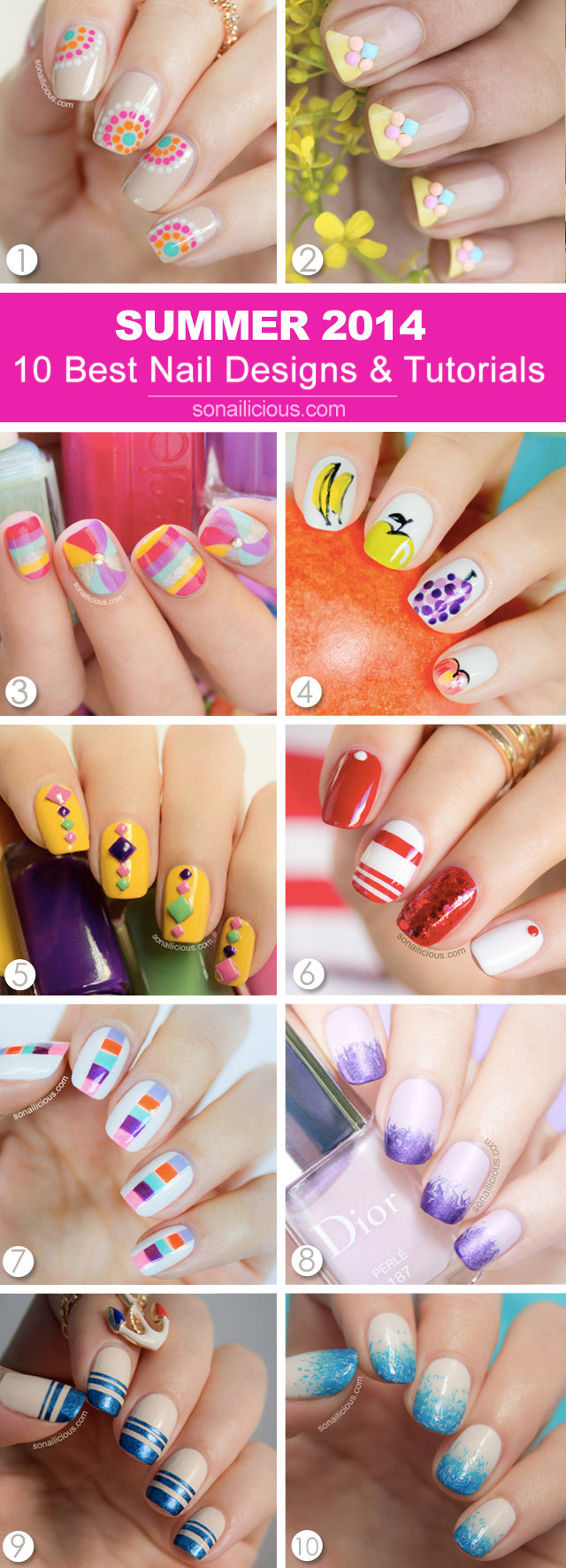 best nails summer 2014