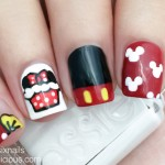 Minnie Mouse Cupcake Nails: How-To