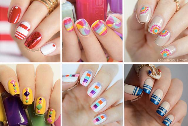 nails summer 2014