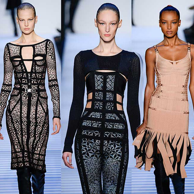 Nails by Julie K for Herve Leger Fall 2014