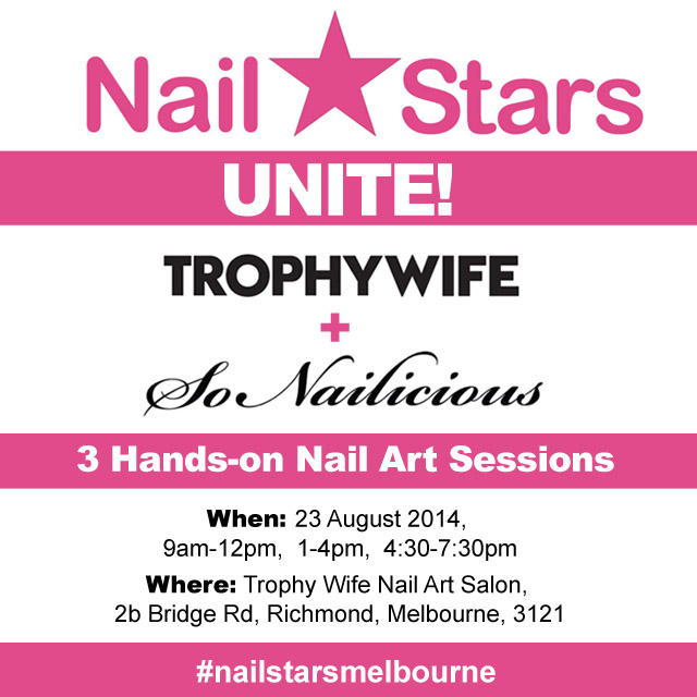 nail art workshop nail stars melbourne