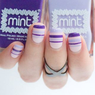 mint polish and sonailicious collaboration, easy nail art tutorials