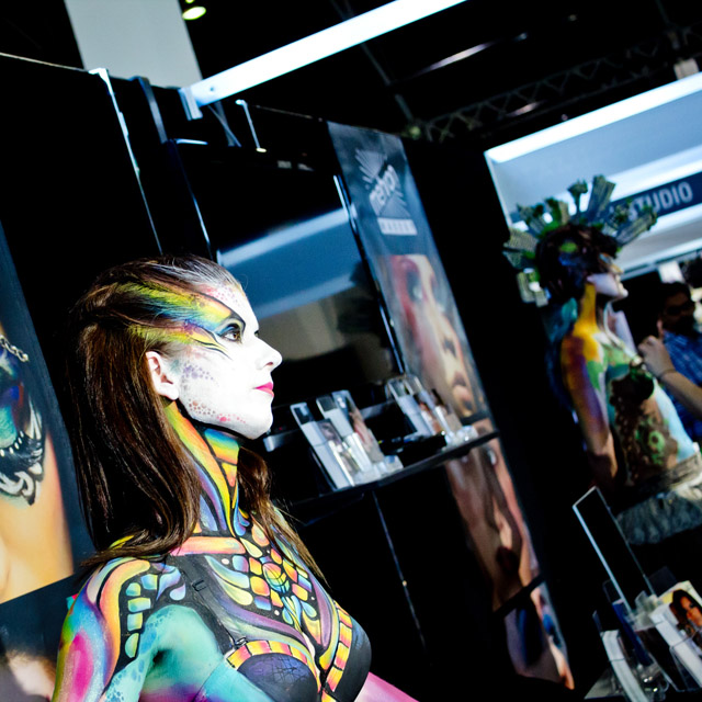 Battle of the Brushes IMATS contest