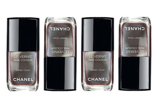 Chanel Sweet star nail polish review swatches
