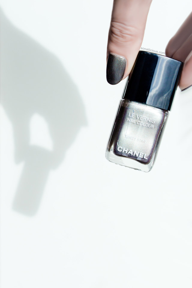 Chanel Le Vernis Sweet star review swathes