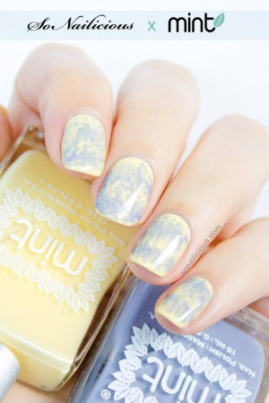Drag marbling nails how to