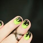 Mystical Flame Halloween Nails – Tutorial