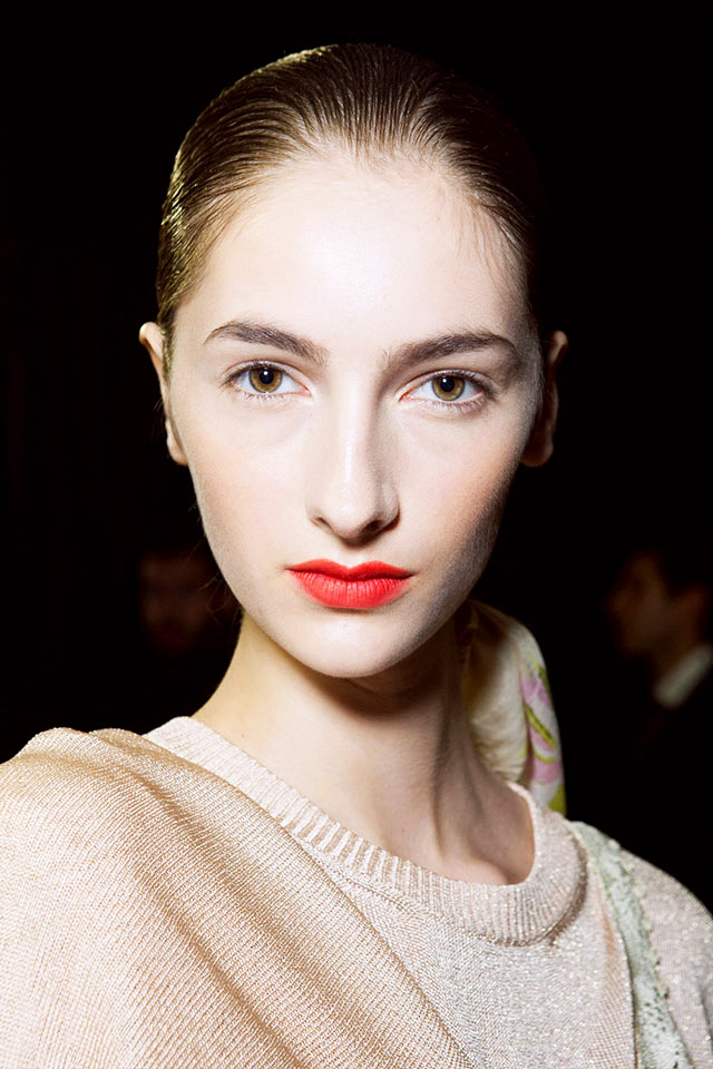 diy makeup ideas from milan fashion week spring 2015