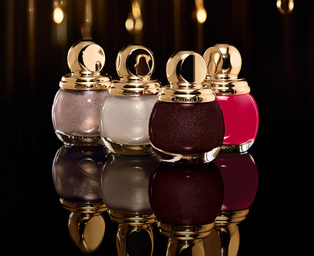 Diorific Vernis Golden Shock collection Holiday 2014