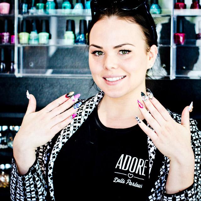 Nicole Hague, founder Adore Girls Parlour