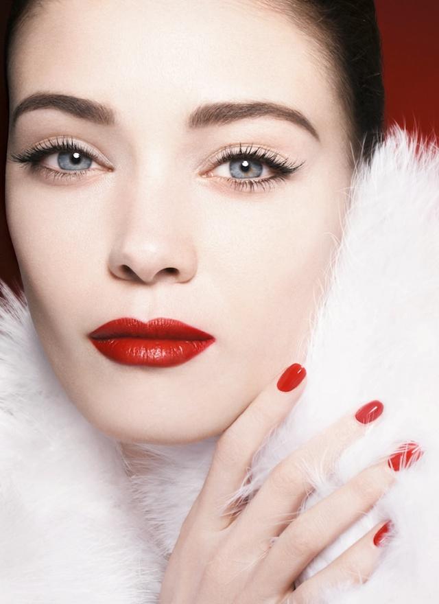Armani Holiday 2014 makeup