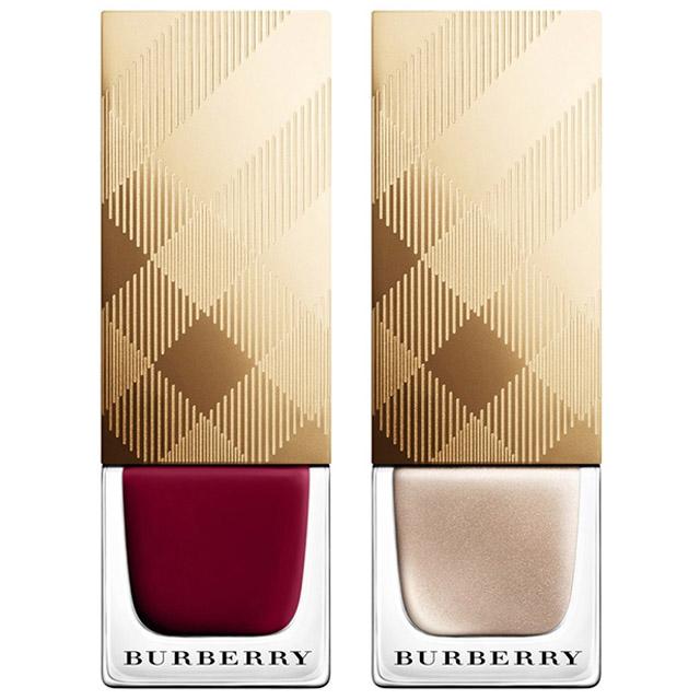 Burberry Holiday 2014 nail polishes