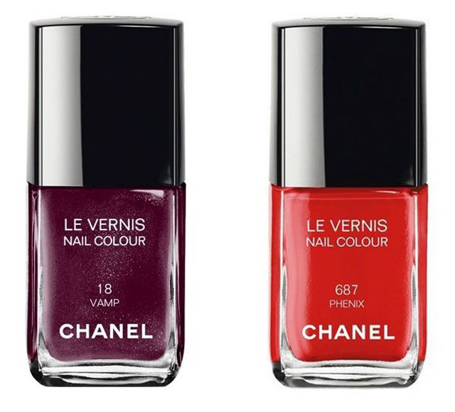 Chanel Phenix nail polish