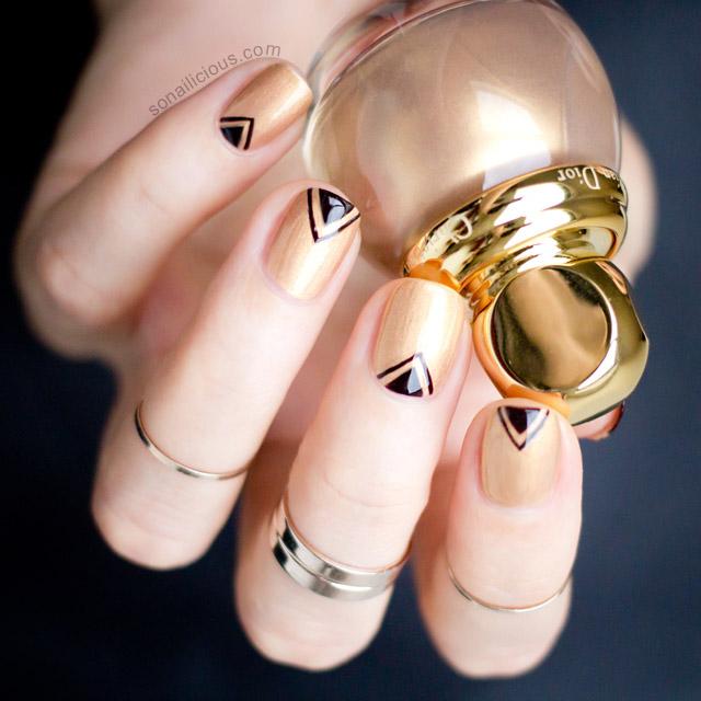 diorific gold Equinoxe swatch