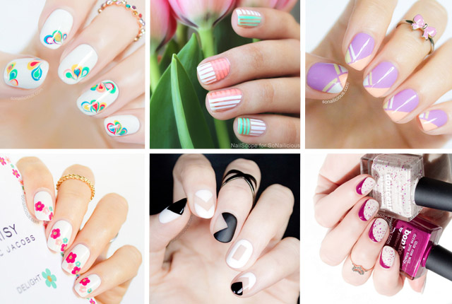 best nail art tutorials 2014
