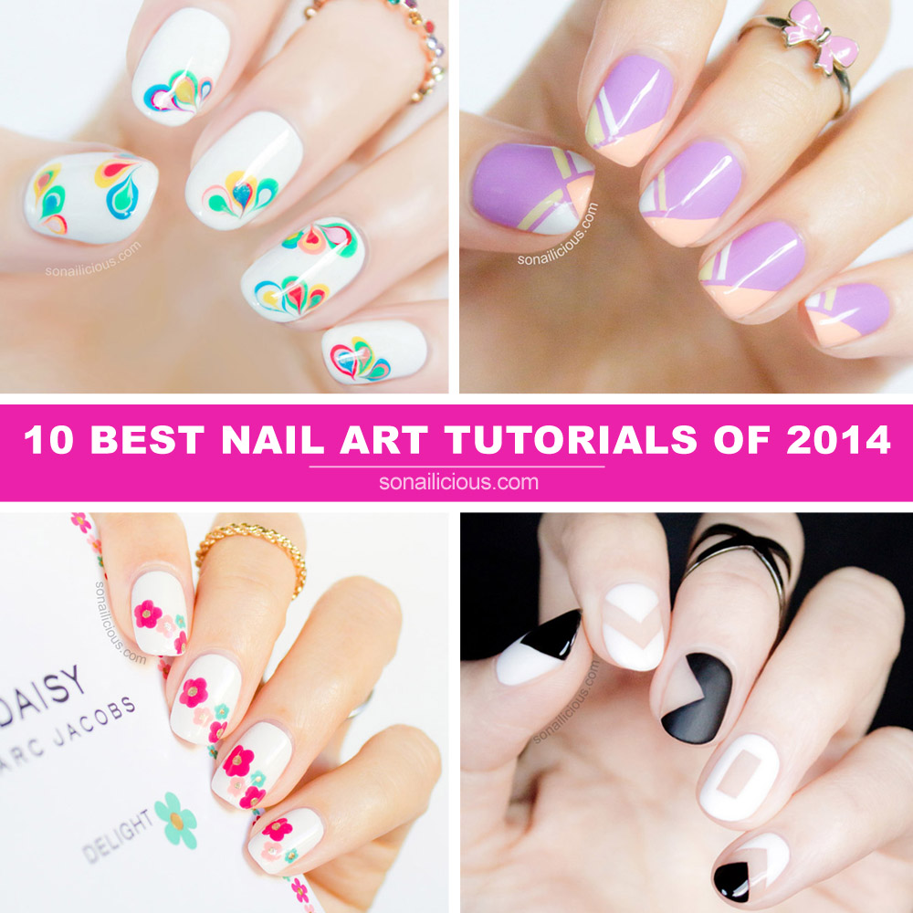 the best nail art tutorials 2014