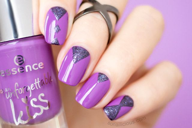 Essence Like An Unforgettable Kiss Review Nail Art